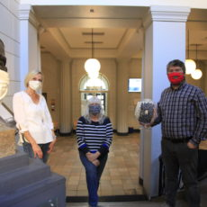 Alltagsmasken mit Otto Schott Andrea Pfeiffer Astrid Raith und Bülent Yavas